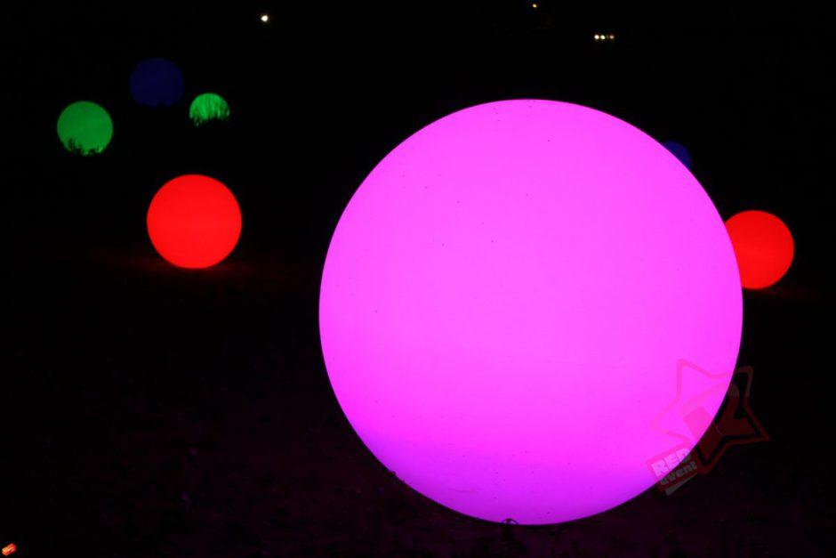 Светящийся шар в аренду на свадьбу