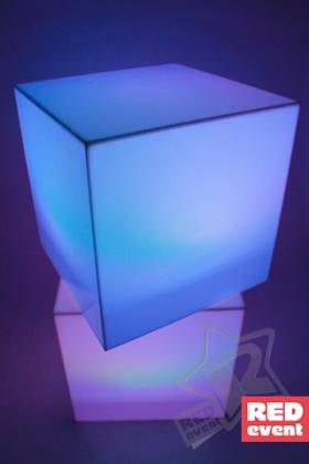 Куб с подсветкой 75 см