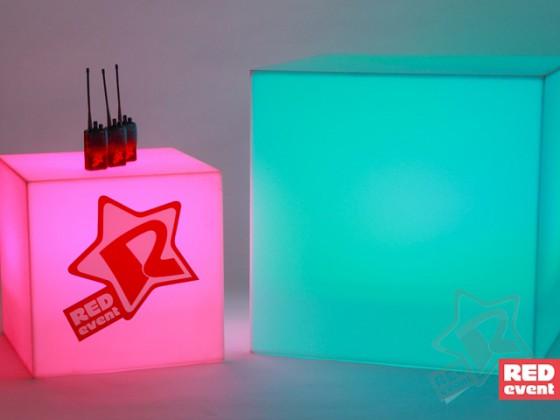 Куб с подсветкой 30/45/75 см