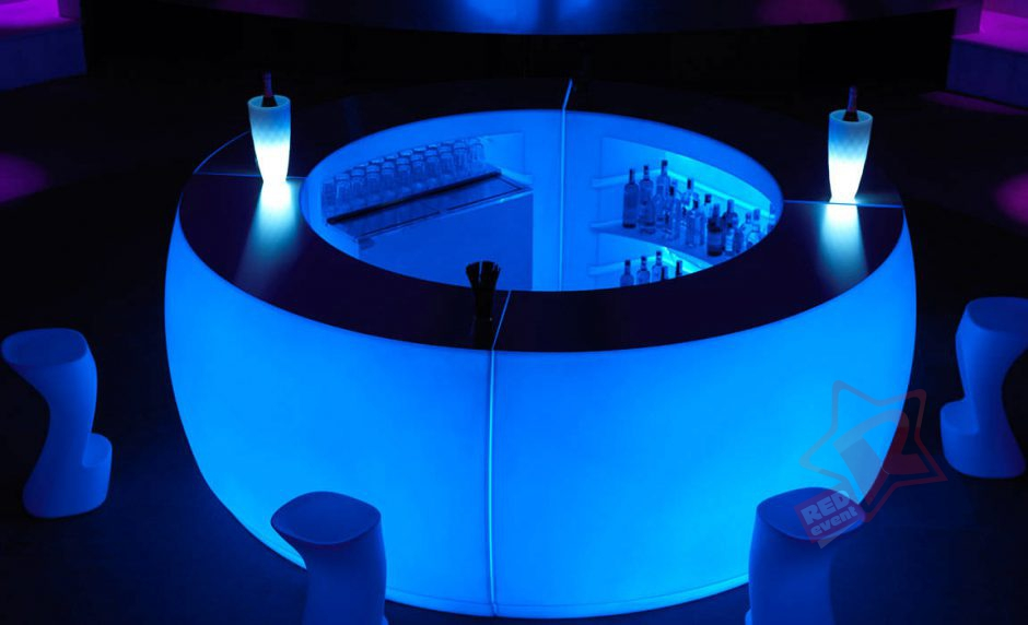 Светящийся LED бар